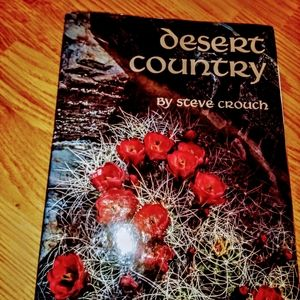 Coffee table book, desert country Steve Couch 1976